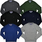 Tommy Hilfiger Sweater Mens Pima Cotton Crew Neck Long Sleeve Pullover Classic