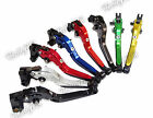 Type-B Folding Extendable Brake Clutch Levers For 1999-2001 YAMAHA YZF R1 RN01