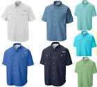 NEW COLUMBIA Men's PFG BAHAMA II Short Sleeve Fishing Shirt