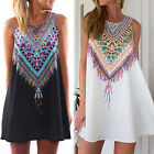 CHIC Sexy Women Sleeveless Party Evening Cocktail Summer Beach Short Mini Dress