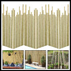 Bamboo Canes Plant Sticks Garden Plants Vegetables Support Flower Cane 2-6ft New