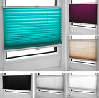 Pleated Blinds in Many Sizes/Colours Easy Fit Install Plisse Conservatory Blinds