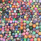 Wholesale! 120pcs Mixed Polymer Fimo Clay Round Loose Spacer Beads 6,8,10,12mm