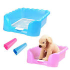 Wave Style Pet Dog Puppy Potty Training Fence Tray Pad Pee Toilet S L