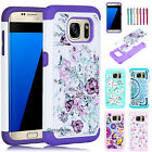 Bling Crystal Shockproof Hybrid Armor Case for Samsung Galaxy S7/S7 edge active