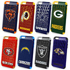iPhone 6s Plus Official Licensed NFL Football Team Logo Dual Layer Hybrid Case $11.68 USD on eBay