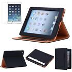 Folio Patterns Luxury Leather Smart Case Cover Stand for ipad 2/3/4 Air 1/2 mini
