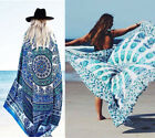 Women Sexy Chiffon Wrap Dress Sarong Beach Bikini Swimwear Cover Up Scarf Dress