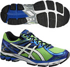 ASICS GT 1000 3 Mens Support Road Cushioned Running Sports Trainers Shoes Green