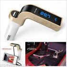 G7 Bluetooth Car Kit Handsfree FM Transmitter Radio MP3 Player USB Charger & AUX