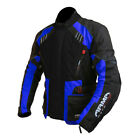 Armr Motorrad Kiso 2 Motorcycle Jacket Blue Waterproof Winter Cordura Touring