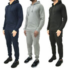Mens ENTT Tracksuit Set Designer Fleece Jersey Hooded Joggers Skinny Slim Pants