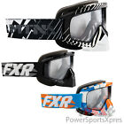 FXR Mission Clear Antifog Double Lens Snowmobile Goggles