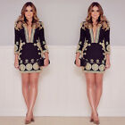 UK Womens Bodycon Cocktail Lace Dress Ladies Evening Party Dress Size 8 - 14