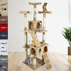 175 cm Cat Kitten Scratching Post Sisal Tree Bed Activity Centre Climbing Toy