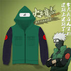 Hatake Kakashi Cosplay Costume Green and Blue Unisex Hoodie Free Shipping