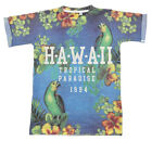 Boys Chainstore Hawaii Tropical Paradise Print T-Shirt Top 7 to 14 Years NEW