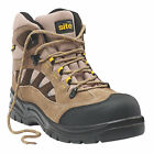 BRAND NEW SITE GRANITE SAFETY BOOTS - S1P SRC SAFETY RATED - STONE - UK 7 - 12