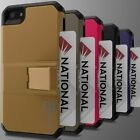 For Apple iPhone SE Case Protective Hybrid Credit Card Holder Hard Phone Cover