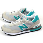 New Balance WL515COA B Light Grey & Green & White Classic Lifestyle Shoes NB