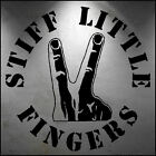Wall Sticker Stiff Little Fingers logo in High Quality Cut Matt Vinyl