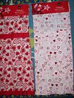 Home Wear Apron Adult Valentine Design Pink Red White Select Style OSFM NWT