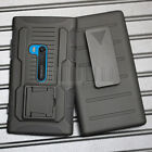 Armor Shockproof Hybrid Rugged Rubber Protective Hard Stand Case Cover + Holster