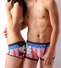 Disney Underpants Underwear Women Brief Couple Brief Boxer Mickey Stars U-04