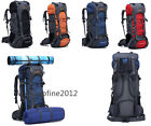 70L Large Camping Rucksack Backpack Hike Outdoor Military Tactical Travel Bag UK