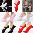 CHIC Ballet Shoes Canvas Yoga Gymnastic Split Sole Adult's & Children's Sizes