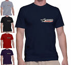 T SHIRT UOMO MV AGUSTA CORSE CON TOPPA PATCH APPLICATA