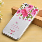 3D Rubber Fashion Gel Pattern Soft TPU Case Thin Cover For Apple iPhone 6/6S