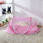 Portable Foldable Baby Tent bed pops up Travel Sleep Easy Time Protective Crib