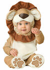 Cute Lovable Lion Infant/Toddler Costume Fancy Dress Up Animal Onesie