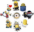 9 Minion despicable me Iron on heat transfer I love minions! need coffee!