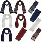 New Womens Ladies Mens Unisex Plain Cable Knitted Snowflakes Shawl Muffler Scarf
