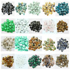 Wholesale Lots 10Ps Mix Natural Gemstone Stone Heart Pendant Beads Fit Necklace