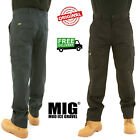 Kyпить NEW Mens Cargo Work Trousers Size 30 to 42 COMBAT with KNEE PAD POCKETS - By MIG на еВаy.соm