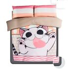 Japanese Anime 2015 Chi's Sweet Home Cat Bedding Set 4pc Queen King Size RARE
