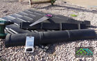 Roofing Side Tiles Dry Verge Edging Cap Cabin Garages Recycled Plastic Black