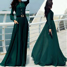 CHI Women Summer Sexy Evening Party Dresses Long Sleeve Cocktail Maxi Long Dress