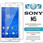 100% Genuine Tempered Glass Film Screen Protector for Sony Xperia M5 / M5 Dual