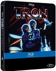 TRON (1982) EDIZIONE LIMITATA STEELBOOK (BLU-RAY) DISNEY FILM con Jeff Bridges