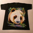 QualityT.Shirt With ( PANDA ) Color In Front Black White At Back Size S  ONLY