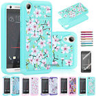 Classical Bling Crystal Hybrid Rubber Case Cover for HTC Desire 530 / 630 / 555
