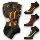 NEW RS Men Fashion Sneaker Socken Strümpfe Füßlinge mit Komfortrand 9 Paar