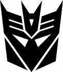 transformers decepticon vinyl decal sticker
