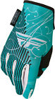 Fly Racing 2015 Kinetic Ladies MX ATV BMX Gloves Teal YXS-XXXL