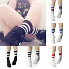 CHIC Mens Womens Unisex Striped Cotton Crew Ankle Sports Socks Football socks