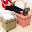 Foldable storage shoes stool sofa Stool Container Organiser for Clothes Toy Book